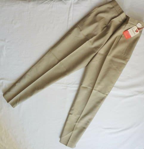 Vintage 1960s girls slacks trousers Age 14 years UNUSED Ladybird 37